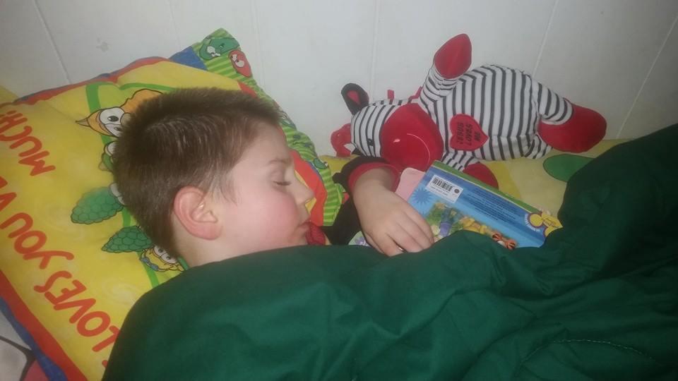 Joshbooksasleep