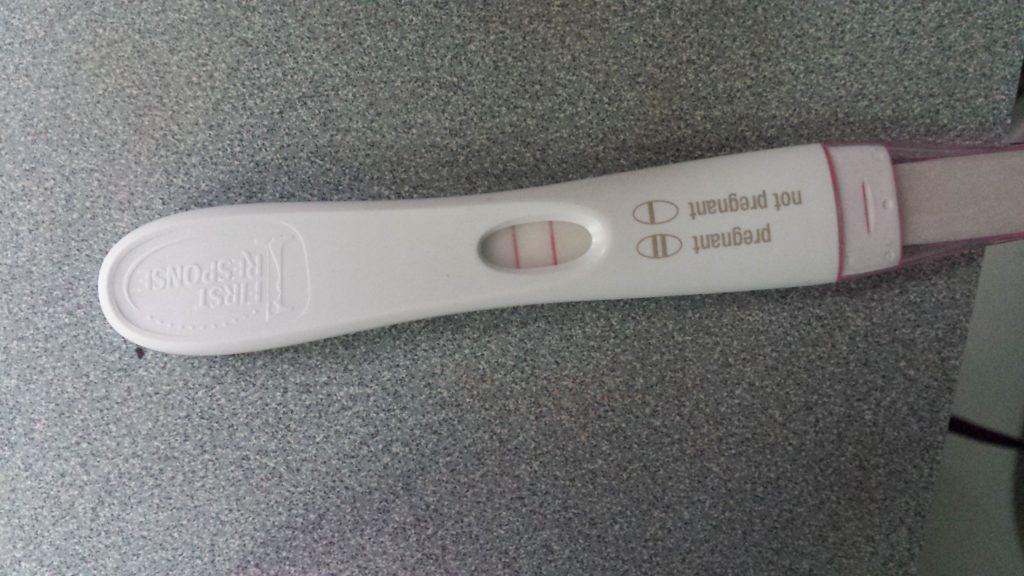pregnancy stick