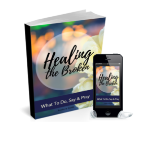 The world is full of emotionally broken souls. You see them hurting every day. Hurting people are everywhere including our own home. What if you you knew exactly what to do, say and pray? What if you could bring emotional healing to the broken?